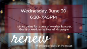 RENEW – June 30